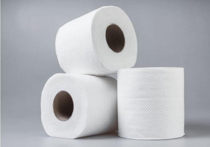 Giấy vệ sinh trắng tinh